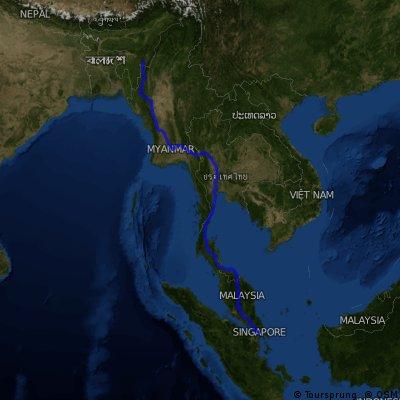 Around the World by bike - Azsia/1