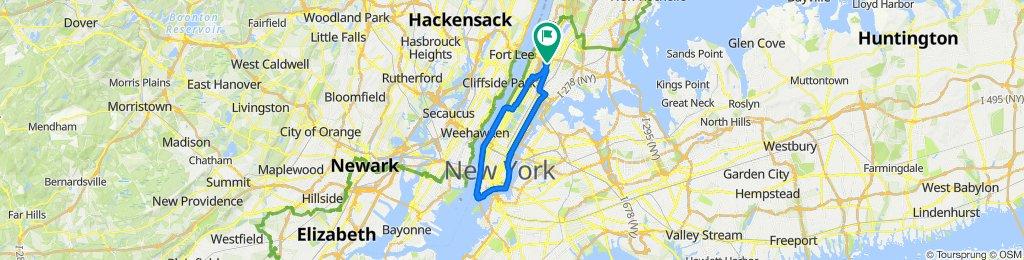 De 1469 Jesup Ave, Nueva York a 1455 Jesup Ave, Nueva York