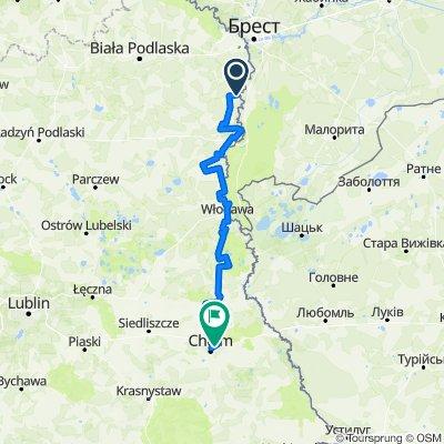 Nadbużański Szlak Rowerowy (Kodeń - Kosyń)