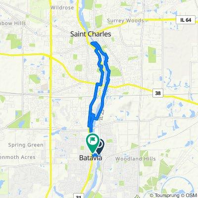 Batavia/st Charles loop