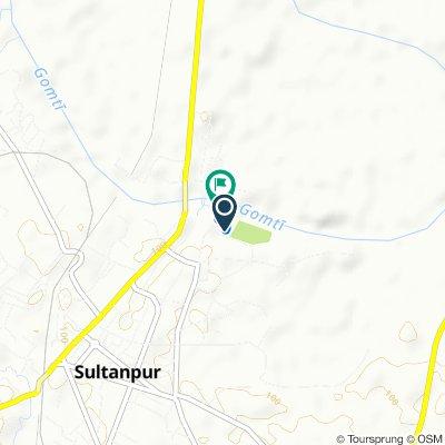 Sitakund Road 828, Sultanpur to Civil Line, Sultanpur
