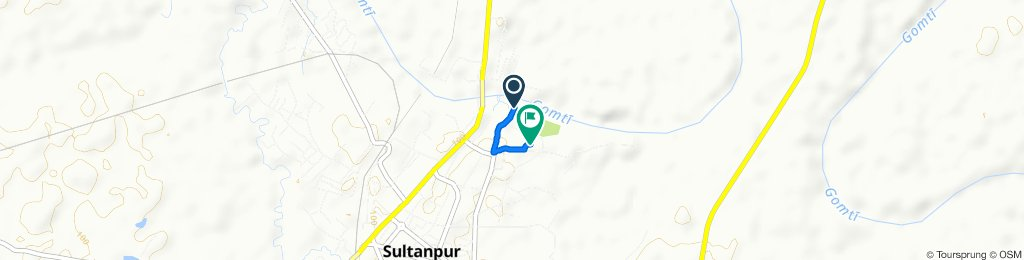 Civil Line, Sultanpur to Jila Udyog Kendra, Sultanpur