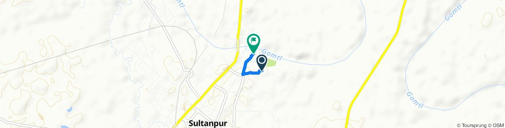 PWD Office Road 746, Sultanpur to Sitakund Road 828, Sultanpur