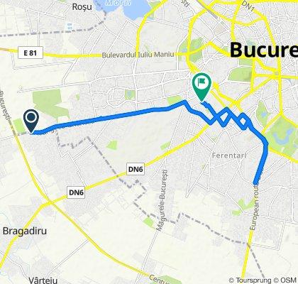 Prelungirea Ghencea 79, Bragadiru to Strada Mihail Sebastian 29, București