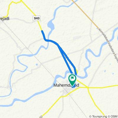 Unnamed Road, Mahemdavad to Unnamed Road, Mahemdavad