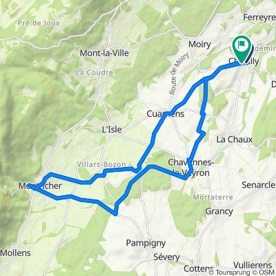 Montricher, Chevilly à Au Village 3, Chevilly