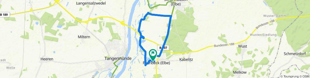 12 km Morgenrunde