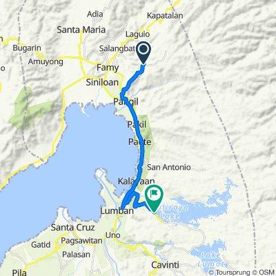 Unnamed Road, Siniloan to Lumban - Caliraya - Cavinti Road