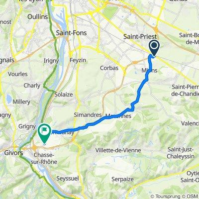 4–22 Rue Joseph Marie Jacquard, Mions nach D150, Communay