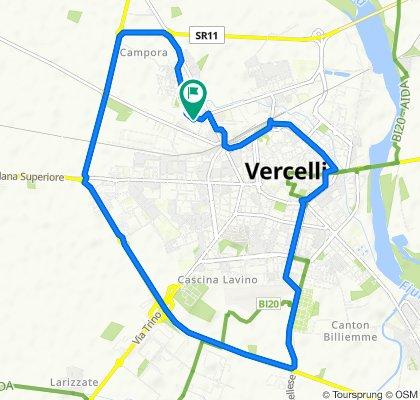 Da Via Gorizia 14–14B, Vercelli a Via Siracusa 35, Vercelli