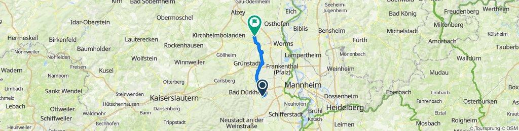 Münchwiesenhof, Gönnheim nach Weedgasse 28, Flörsheim-Dalsheim