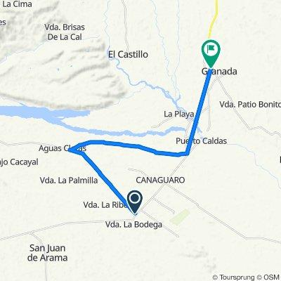 Ruta a Carrera 13, Granada