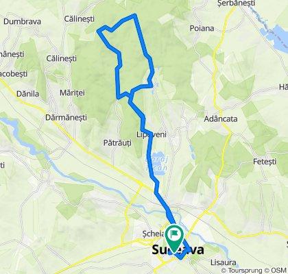 Suceava-Lipoveni-Dragomirna