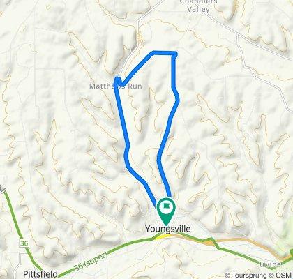Brown Hill/Matthews Run Loop