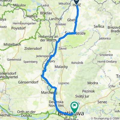 Okolo Slovenska 2020 - deň 19