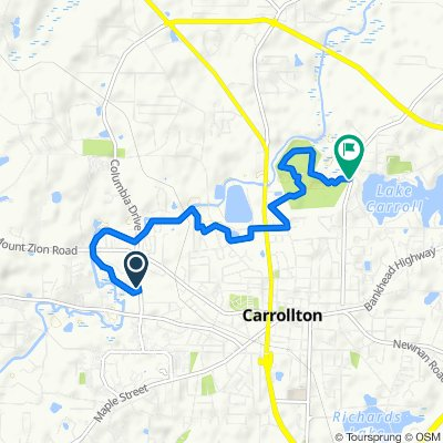 227 Brumbelow Rd, Carrollton to 886–898 Stewart St, Carrollton