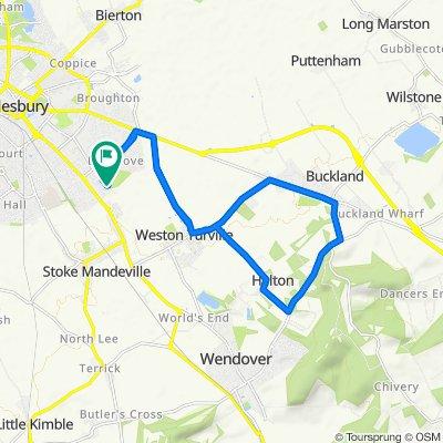 16 Grasmere, Aylesbury to 20 Hambledon Close, Aylesbury