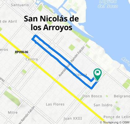 De Benítez 209, San Nicolás de Los Arroyos a Benítez 203, San Nicolás de Los Arroyos