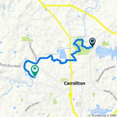 886–898 Stewart St, Carrollton to 227 Brumbelow Rd, Carrollton