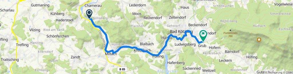 Urleiten 5, Chamerau nach Rotter Weg 19, Bad Kötzting