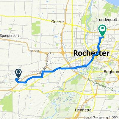 60 Christina Dr, North Chili to 181 Mohawk St, Rochester
