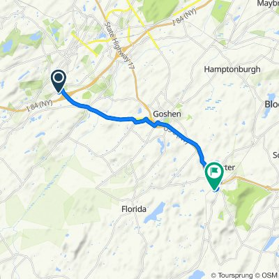 3476 US-6, Middletown to 1–23 Old Black Meadow Rd, Chester