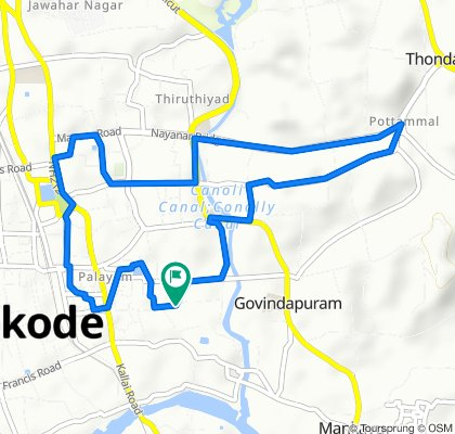 Restful ride in Kozhikode
