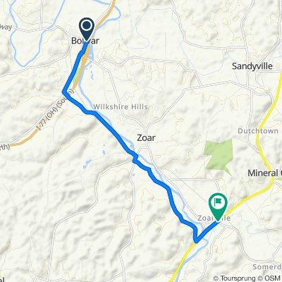 101–199 Canal St NE, Bolivar to 6999 SR-212, Zoarville