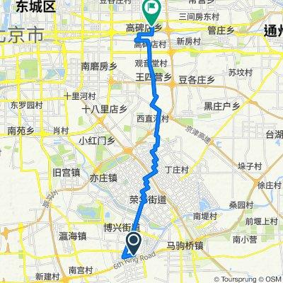 新凤河路, 北京市 nach 建国路29号兴隆家园南区30号楼, 北京市