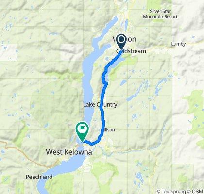 KVR - Vernon to Kelowna