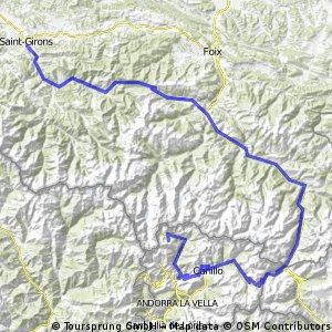 St. Girons - Andorra-Arcalis