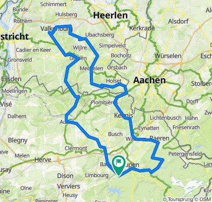 B-Ardennen- Dreiländereck Cauberg - 100 1300