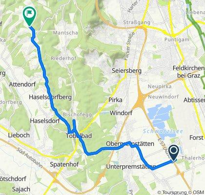 Europaweg 4–5, Unterpremstätten-Zettling nach Doblegg 58, Hitzendorf