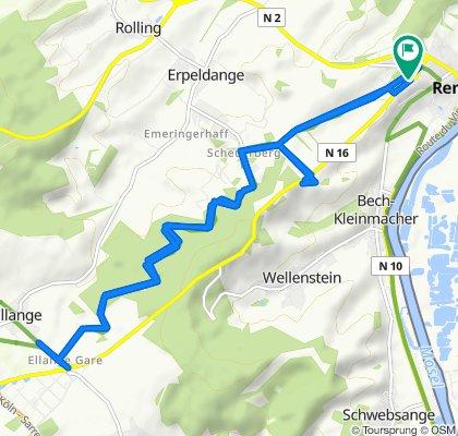 De Route de Mondorf 18A, Remich a Route de Mondorf 20, Remich