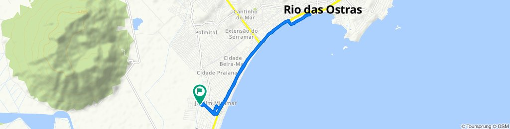 De Rua Borboleta, 86, Casimiro de Abreu a Rua Borboleta, 86, Casimiro de Abreu