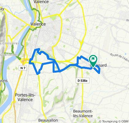 De 1 Allée du Champ de la Lyre, Malissard à 4 Allée du Champ de la Lyre, Malissard