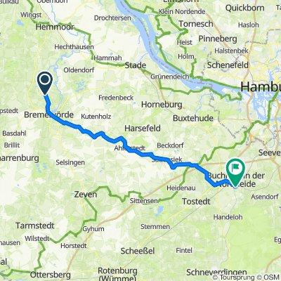 Neuendamm 1A, Bremervörde nach Alte Rennbahn 6, Buchholz in der Nordheide