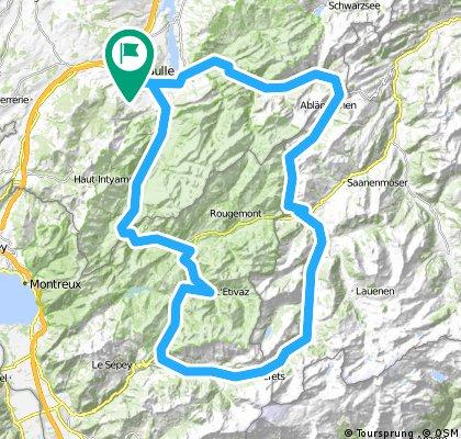 Gruyère cycling tour