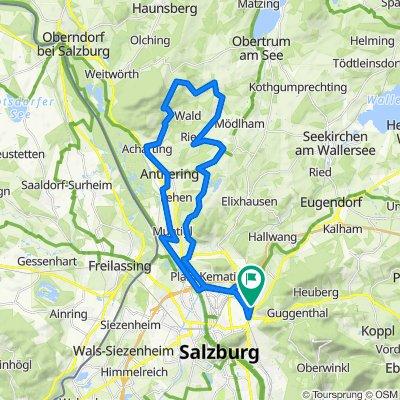 Salzburg - nordwestlicher Flachgau