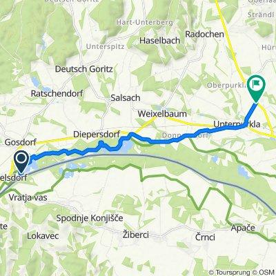 Route nach Oberpurkla 62, Oberpurkla