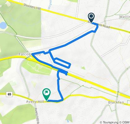 Bellegrove Road 197 to Bexley Road 217