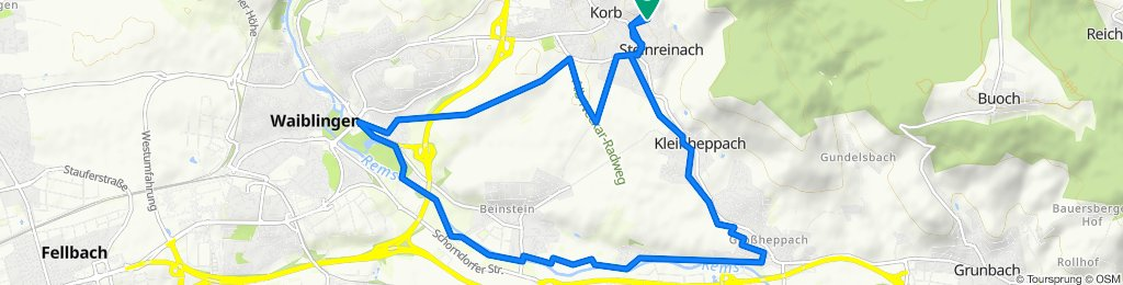 Korb-Waiblingen-Großheppach