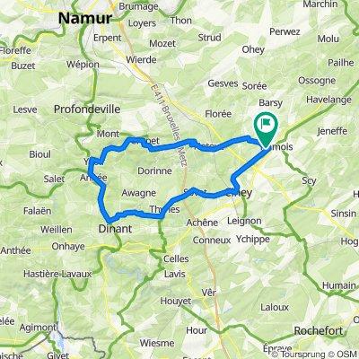 Alvaux Meuse Alvaux en boucle 60 kms