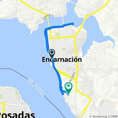De Paseo San José, Encarnación a Piche Dominguez Netto, Encarnación