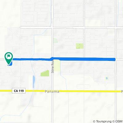 5824 Samuelson St, Bakersfield to 5824 Samuelson St, Bakersfield