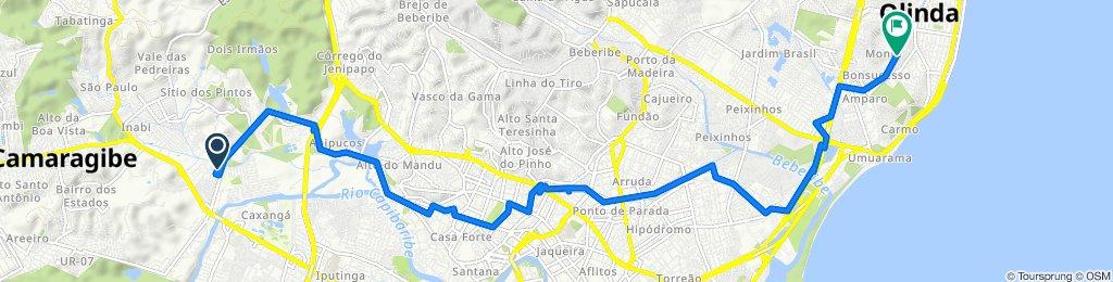 De Rua Doutor Dustan de Carvalho Soares 23 a Rua Geraldo Silva 98