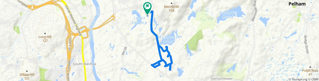 10 Copper Hill Rd, Hudson to 42–98 Copper Hill Rd, Hudson