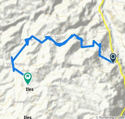 De Ipiales-Pilcuan a Calle 5 6-48, Iles