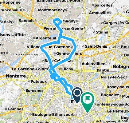 Sunday Ride #33 - Enghein Via Asnière