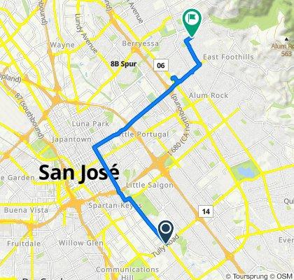 Senter Road 2398, San Jose to San Pablo Avenue 3419, San Jose
